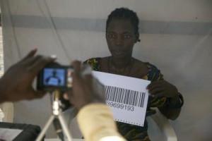 4-Enregistrement des refugiés sur la liste électorale  Crédit photo/ Adriana Borra